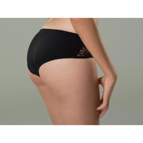 Black Lace Shorty Briefs - Zouf.biz