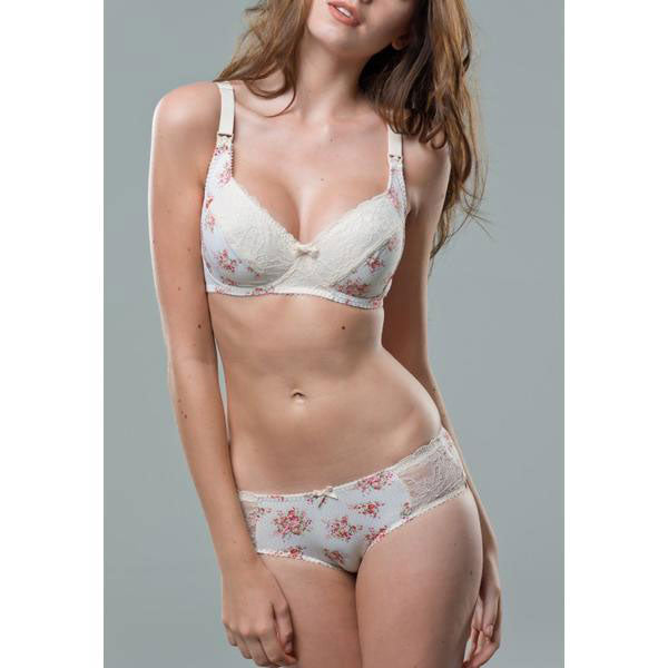 Flowers Lace Maternity Nursing Bra Non-Wired - Zouf.biz