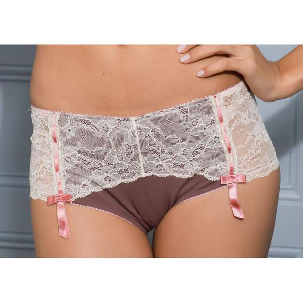 Divine Shorty Briefs, Chocolate Organic Cotton - Zouf.biz