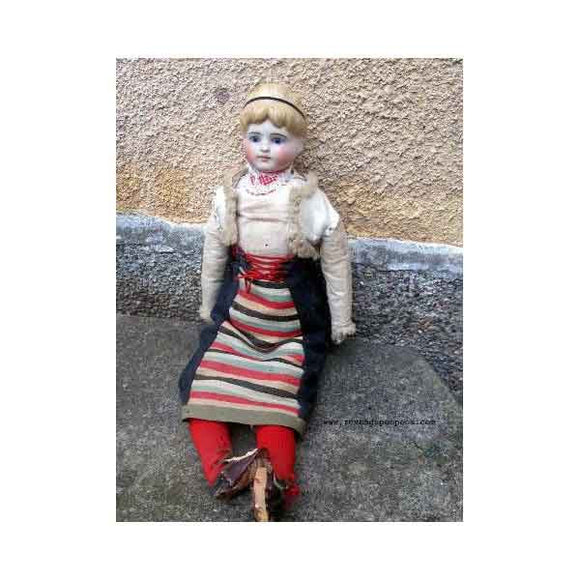 19th Century Antique Doll - Zouf.biz