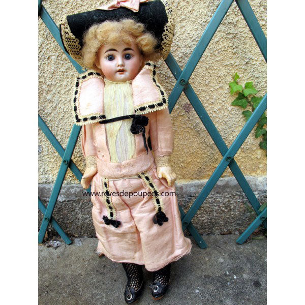 All-Bisque Doll Alice - Zouf.biz