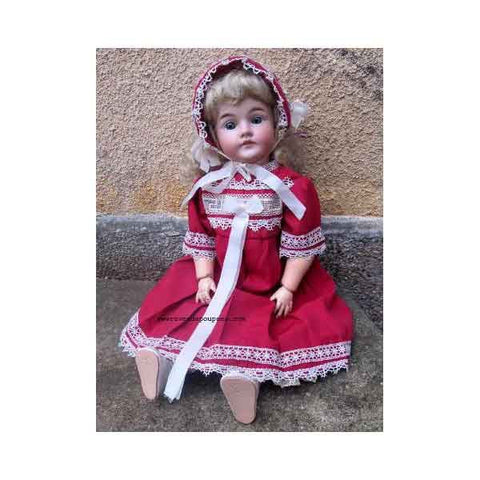 Antique KO Doll Blondine - Zouf.biz
