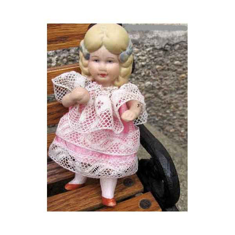 All-Bisque Doll Margot - Zouf.biz