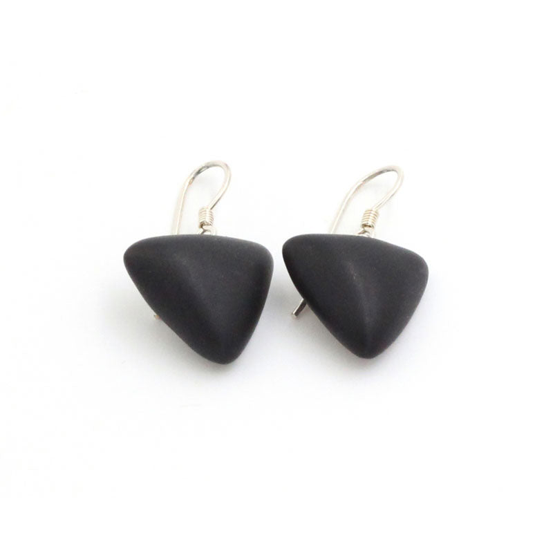 Black Berlingots Drop Earrings - Zouf.biz