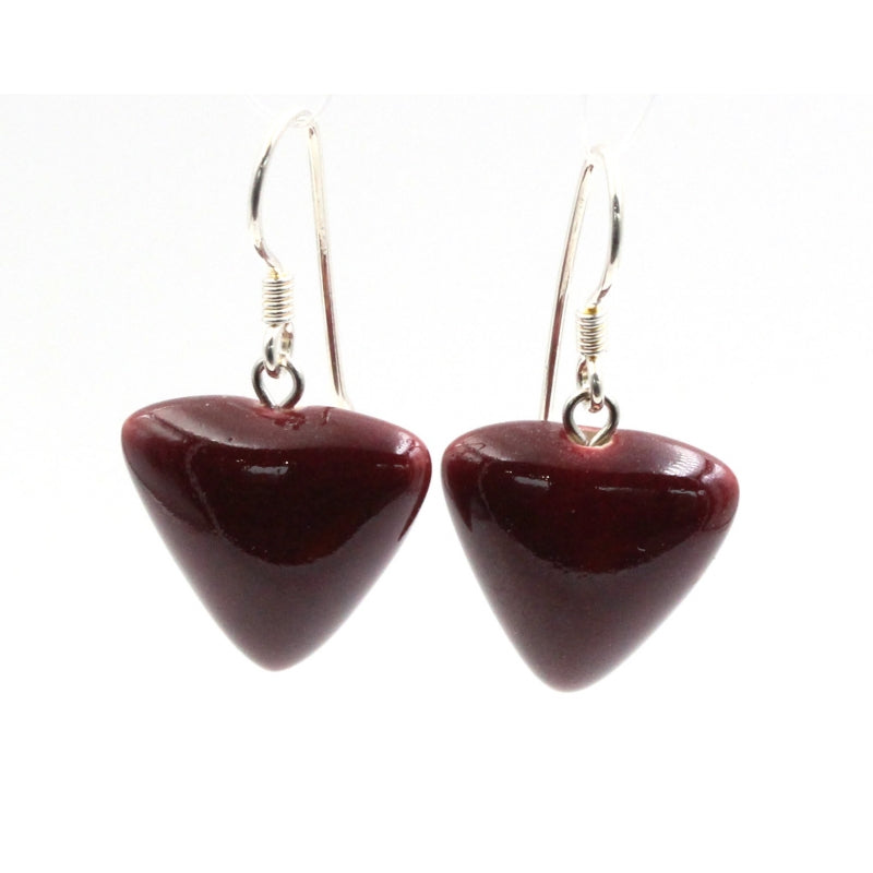 Blackcurrant Berlingots Drop Earrings - Zouf.biz
