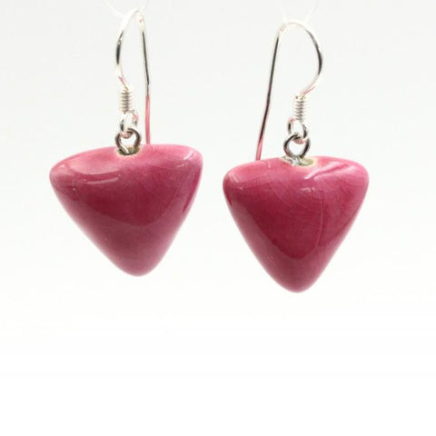 Raspberry Berlingots Drop Earrings - Zouf.biz