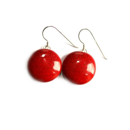 Cherry Moon Drop Earrings - Zouf.biz