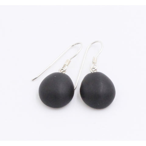 Black Gouttes d'Eau Urban Drop Earrings - Zouf.biz