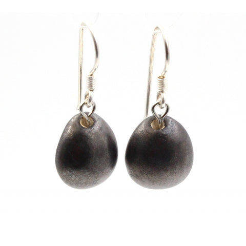 Cast Iron Gouttes d'Eau Urban Drop Earrings - Zouf.biz