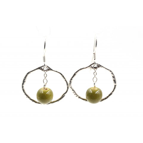 Pistachio Gypsies Drop Earrings - Zouf.biz