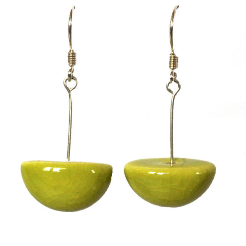 Anise Inca Yucatan Ceramic Drop Earrings - Zouf.biz