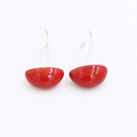 Cherry Inca Yucatan Ceramic Drop Earrings - Zouf.biz