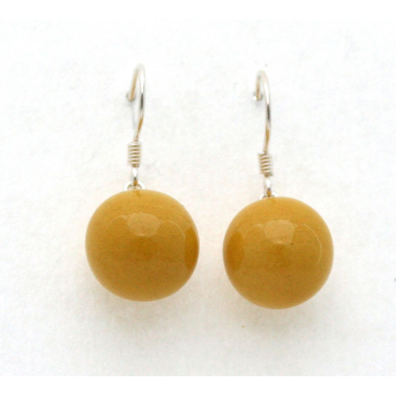 Sun Perles Ceramic Drop Earrings - Zouf.biz