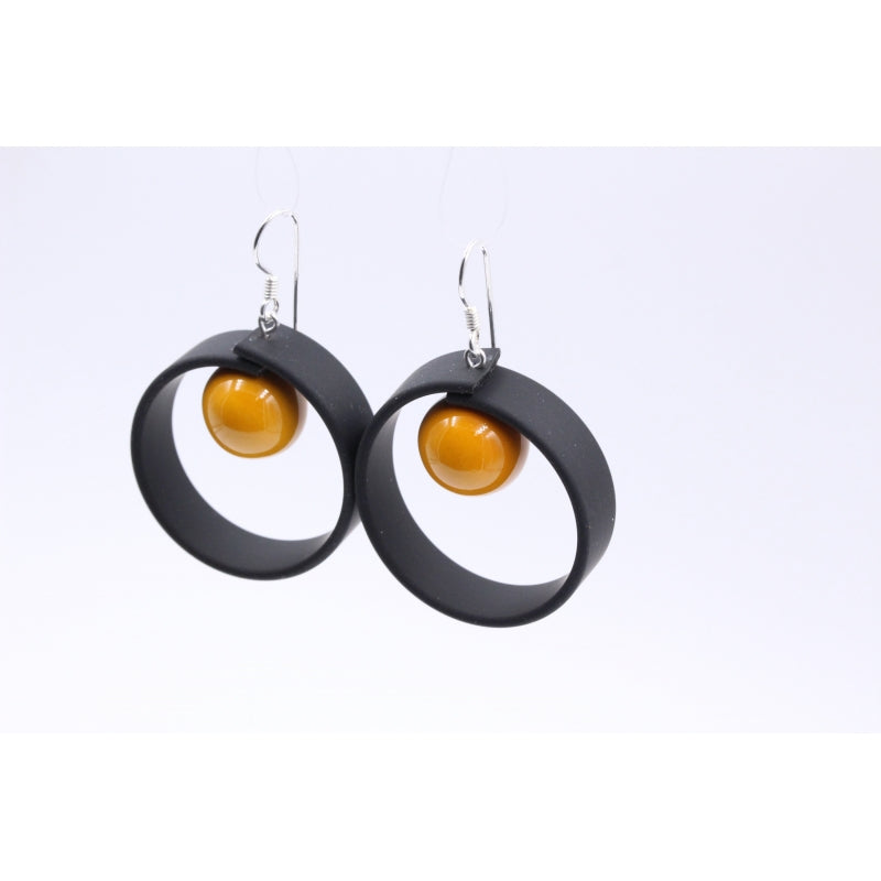 Apricot Tempo Drop Earrings - Zouf.biz