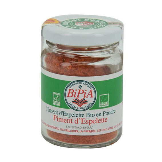 Organic Espelette Chili Pepper Powder AOP - 40g - Zouf.biz