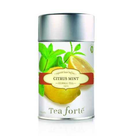 Citrus Mint Loose Leaf Tea Canister - Zouf.biz