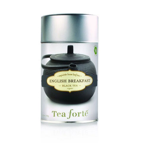 English Breakfast Loose Leaf Tea Canister - Zouf.biz