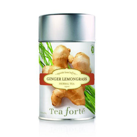 Ginger Lemongrass Loose Leaf Tea Canister - Zouf.biz