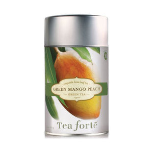 Green Mango Peach Loose Leaf Tea Canister - Zouf.biz
