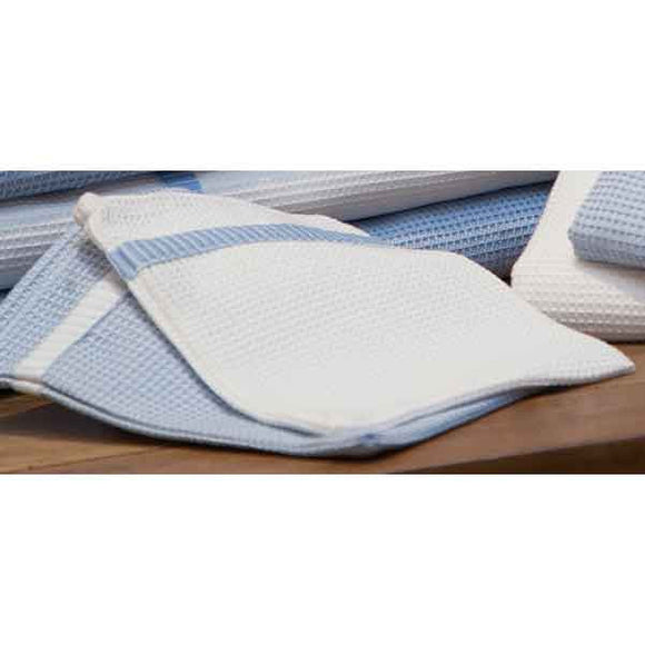 Finest Blue Honeycomb Face Cloth - Zouf.biz