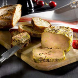 Whole Duck Foie Gras with Black Pepper - 130g Jar - Bronze Medal - Zouf.biz