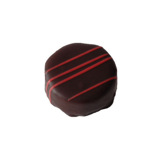 Dark Chocolate Ganache with Black Cherry - Zouf.biz