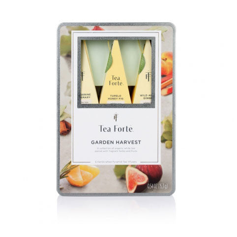 Garden Harvest White Tea Assortment Gift Tin - Zouf.biz