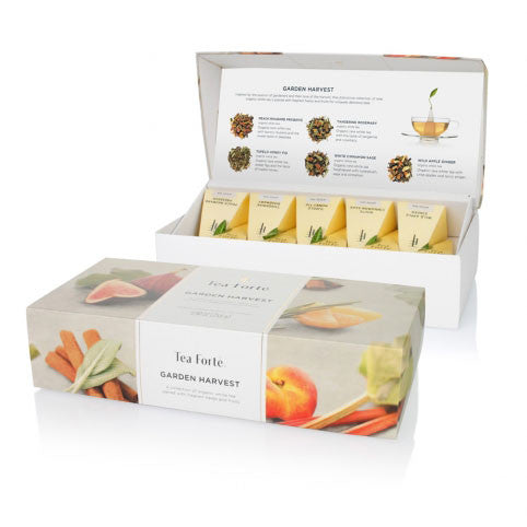 Garden Harvest White Tea Presentation Box - Zouf.biz