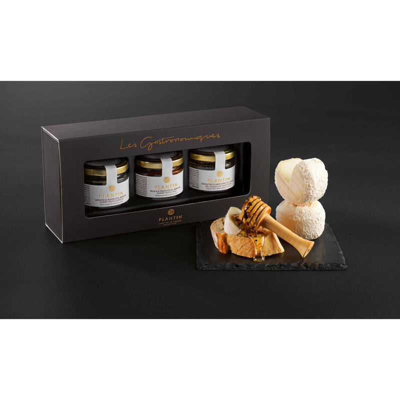 Truffles and Cheeses Trio Gift Set - Zouf.biz