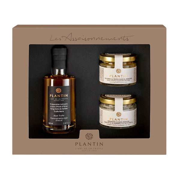 The Truffle Oil and Condiments Gift Set - Zouf.biz