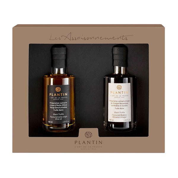 The Truffle Oil and Vinegar Gift Set - Zouf.biz