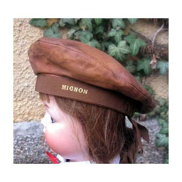 Vintage Leather Beret - Zouf.biz