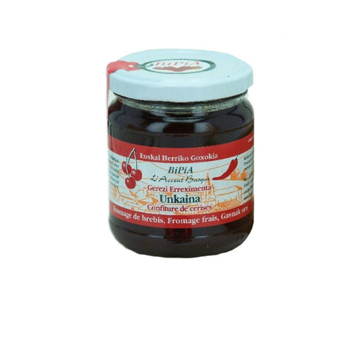 Cherry Jam with Espelette Pepper - 240g - Zouf.biz