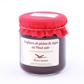 Vineyard Peach Jam with Pinot Noir - 250g