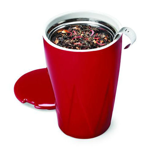 Kati Loose Tea Cup & Infuser, Warming Joy - Zouf.biz