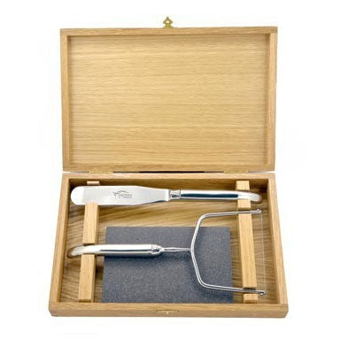 Laguiole Foie Gras Slicer Set Stainless Steel
