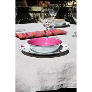 Washed Pure Linen Sable Tablecloth - Zouf.biz
