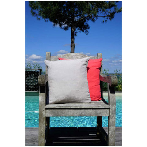 Sable 100% Linen Cushion Cover
