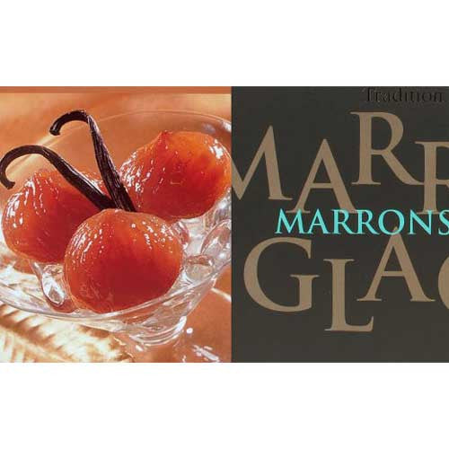 Marrons Glacés (Candied Chestnuts) Carton Box made in France