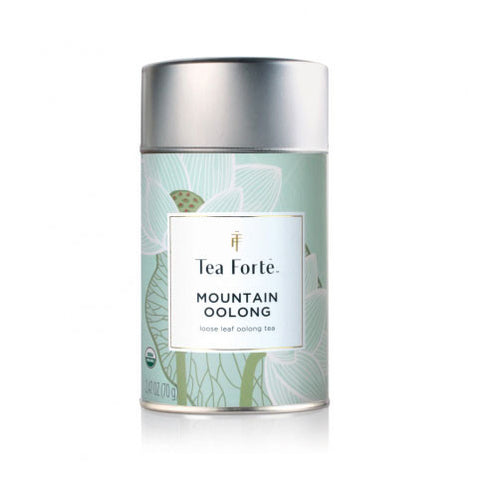 Mountain Oolong Lotus Loose Tea Canister - Zouf.biz