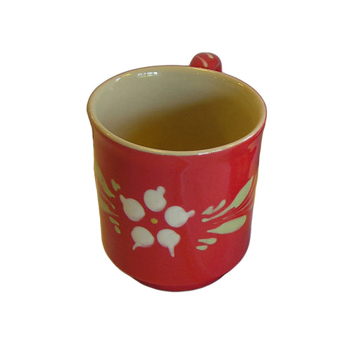 Flower Mug - Red - Zouf.biz