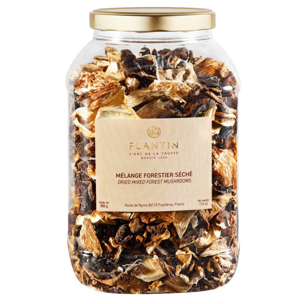 Dried Wild Forest Mushrooms (Melange Forestier) - Zouf.biz