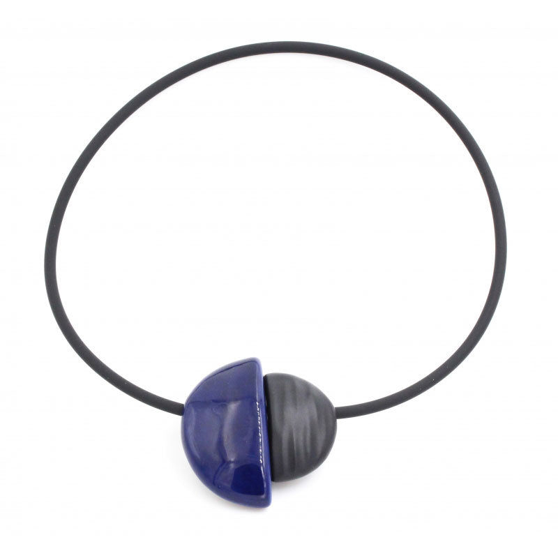 Midnight Blue Inca Yucatan Necklace - Zouf.biz