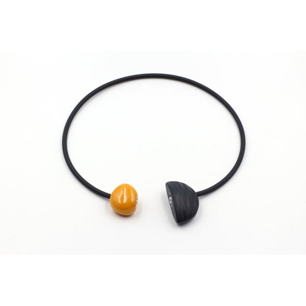 Apricot Leo Ceramic Necklace - Zouf.biz