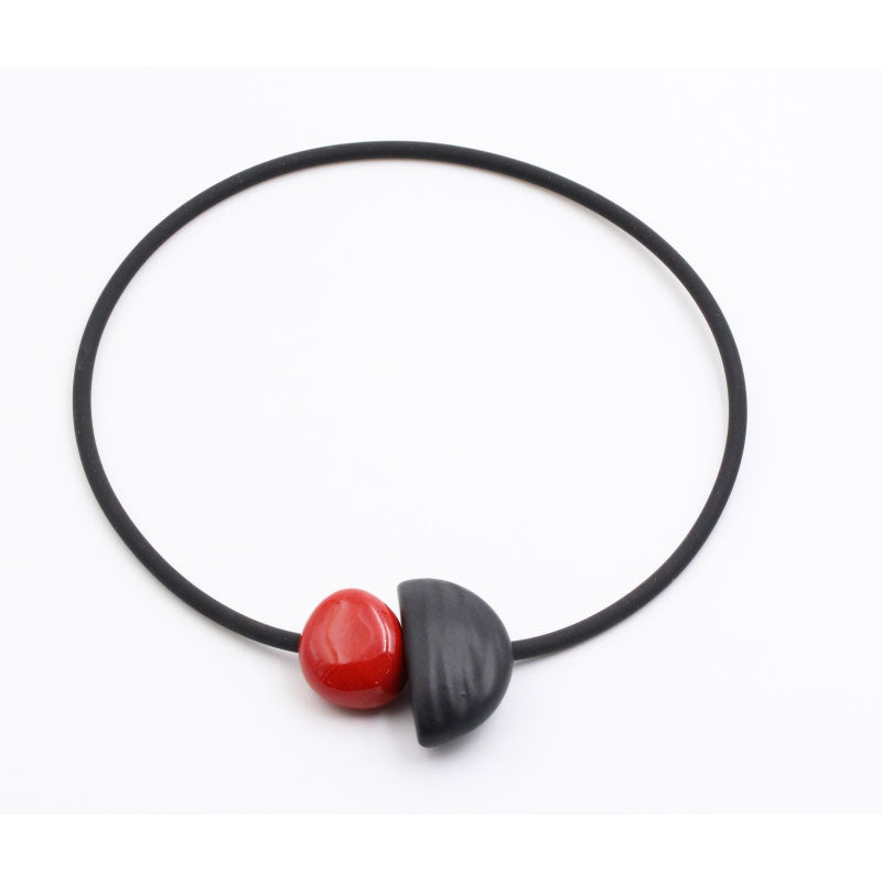 Cherry Leo Ceramic Necklace - Zouf.biz