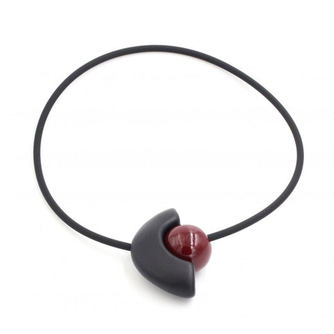 Blackcurrant Luna Yucatan Necklace - Zouf.biz