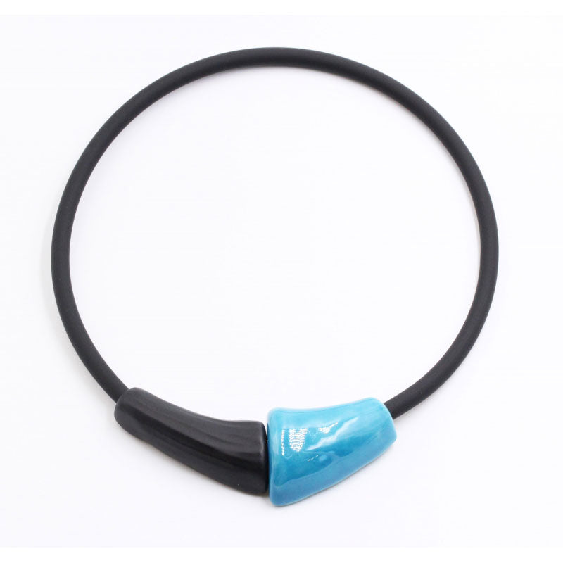 Turquoise Masai Ceramic Necklace - Zouf.biz