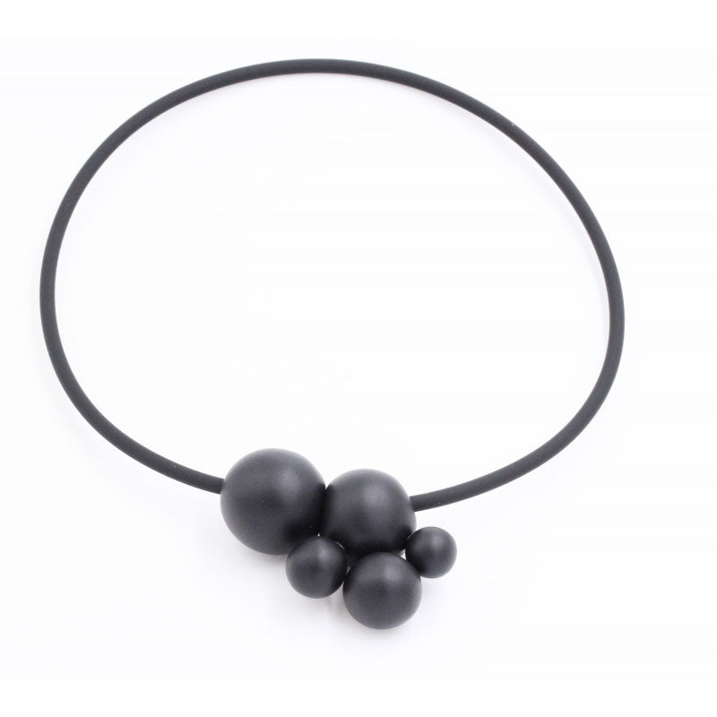 Black Meteore Ceramic Necklace - Zouf.biz