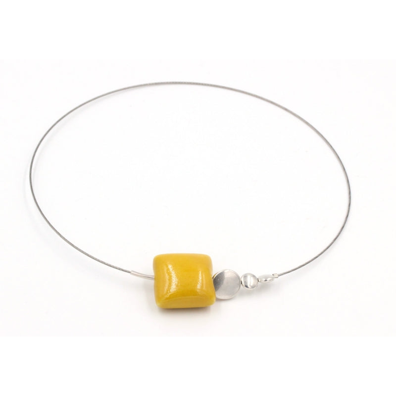 Sun Mosaic Ceramic Necklace - Zouf.biz