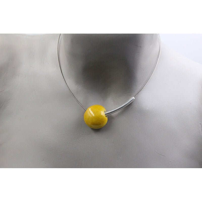 Sun Sakura Ceramic Necklace - Zouf.biz